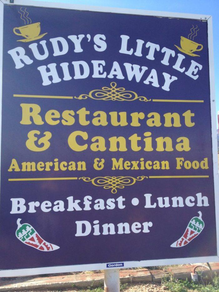 5. Rudy's Little Hideaway (Colorado Springs)