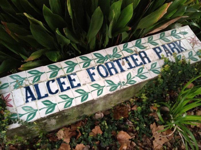3) Alcee Fortier Park, Esplanade Ave Between Mystery and Desoto