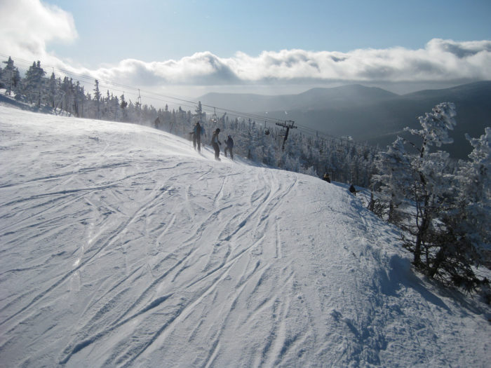 8. People discounting Maine as a ski destination.