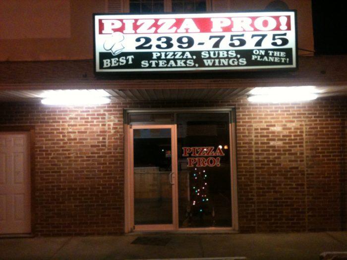 12. Pizza Pro, Hockessin
