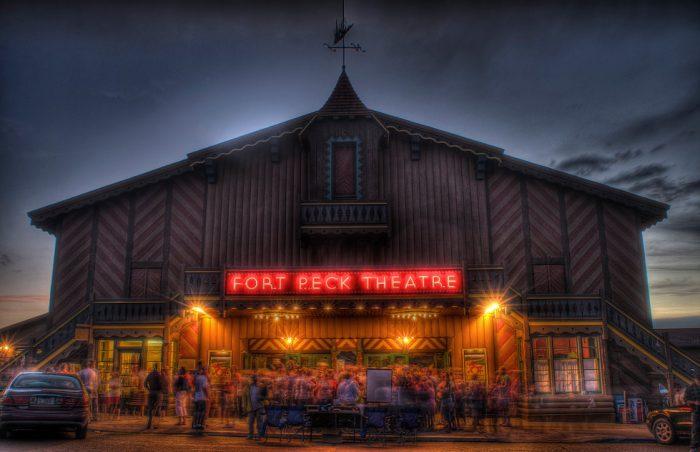 2.  Fort Peck Theatre