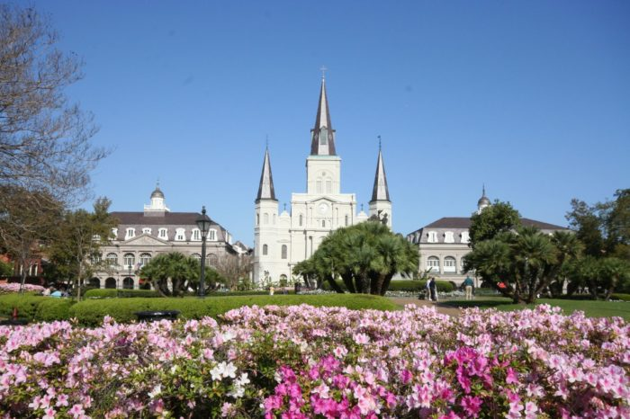 2.  Jackson Square, New Orleans