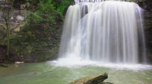 There's Something Incredibly Enchanting About This One Waterfall In Ohio