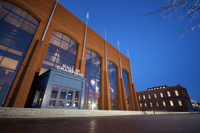 7. Honor the legendary players at the NCAA Hall of Champions Museum.
