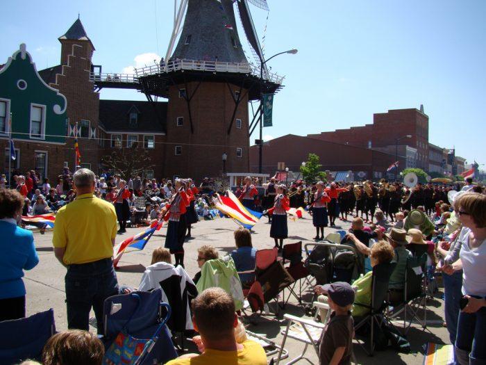 The Tulip Time Festival