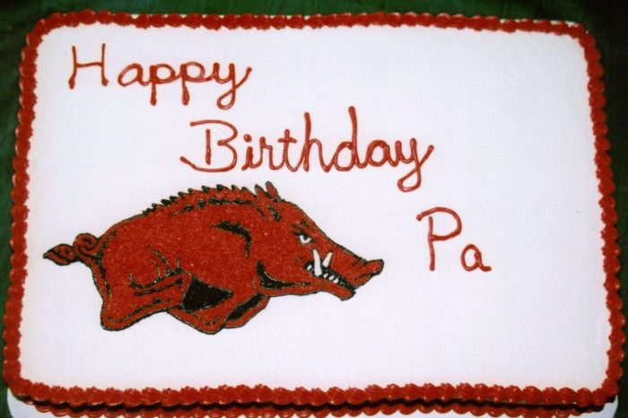 9. DO get used to seeing Razorback-themed everything.  DON'T speak against the Hogs in front of a Razorback fan.