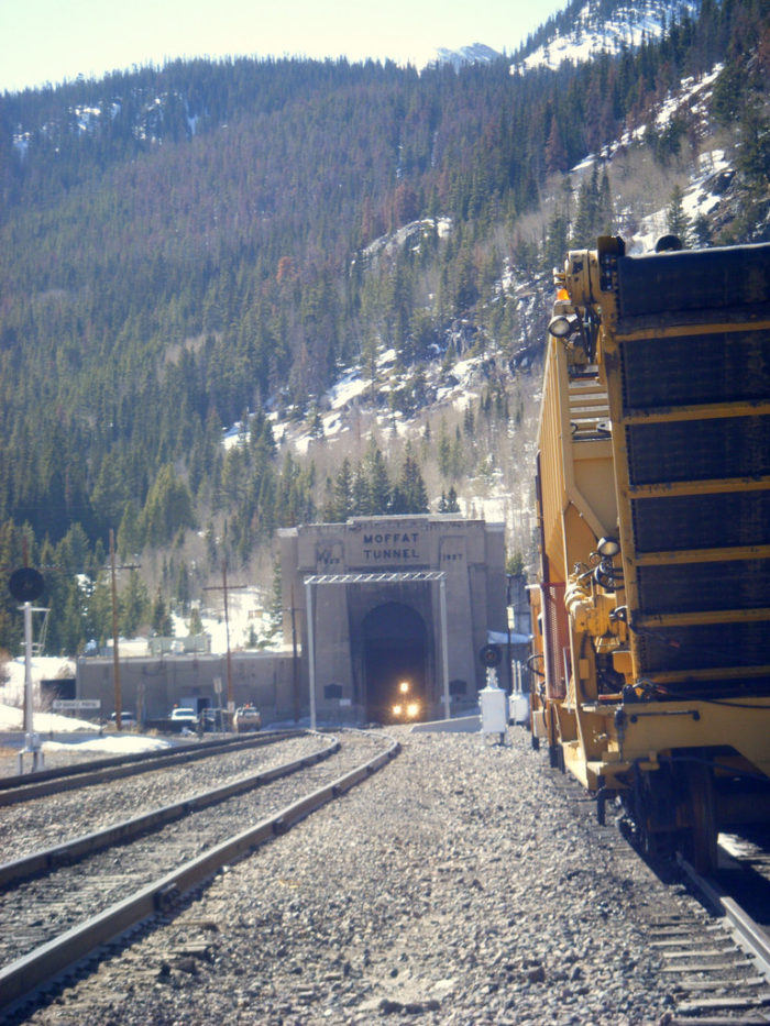 Today the tunnel is primarily used as a way for the Union Pacific Railroad to transport coal and freight; however, it is also used by cross-country passengers riding the Amtrak California Zephyr.