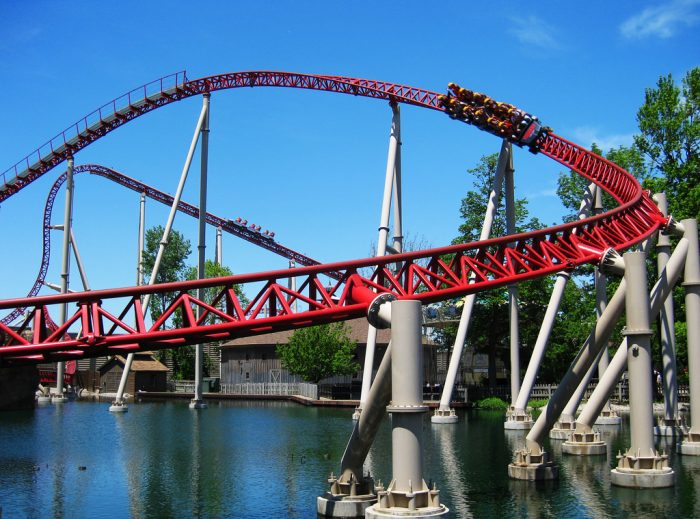 5. Ride as many roller coasters as possible at the Roller Coaster Capital of the World because YOLO. (You only live once.)