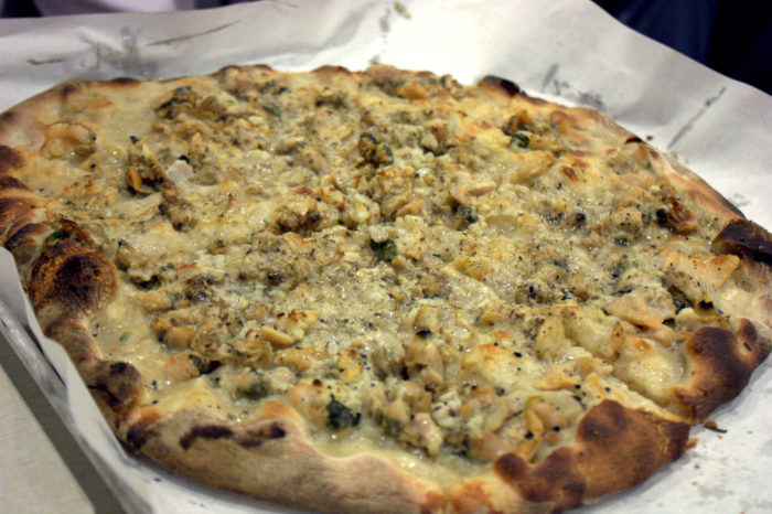8. New Haven Style Clam Pie
