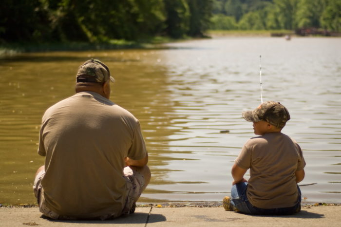 13. Still, nothing beats fishing with the ones you love.