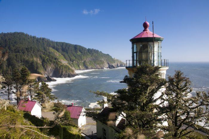 5. Oregon: Heceta Head Lighthouse