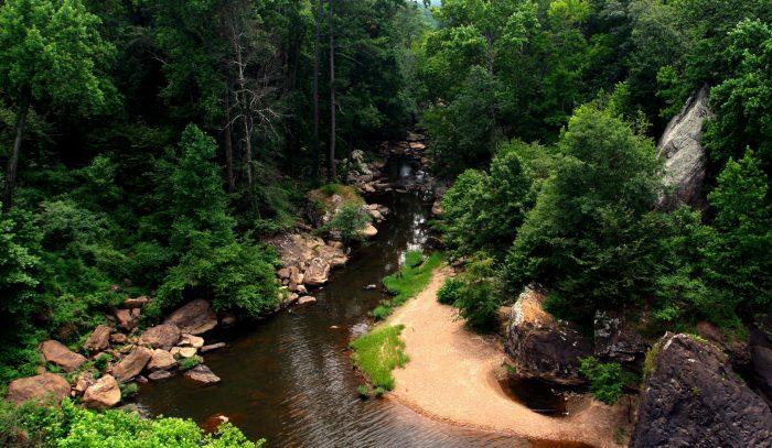 4. Noccalula Falls Historic Gorge Trail