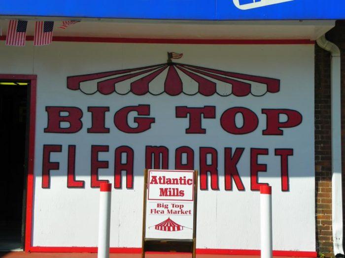 2. Big Top Flea Market, Providence