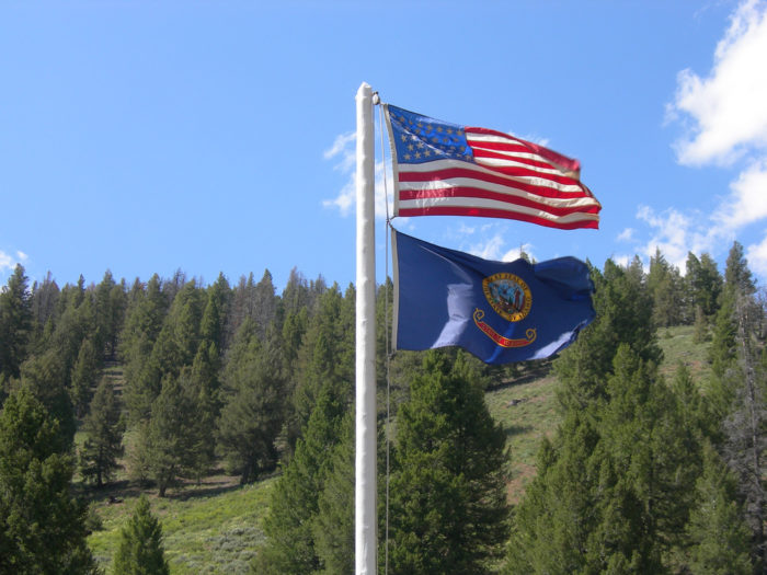 1. We display our nation's flag proudly, flying it high and with great honor.