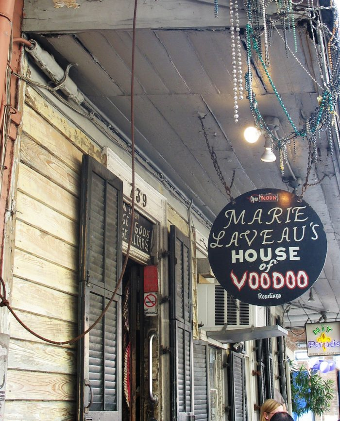 If you're looking for more information about Marie Laveau and her amazing life story, there are some awesome New Orleans voodoo shops that can definitely educate you!