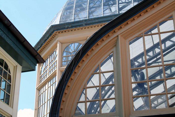 Or impressive architecture.
