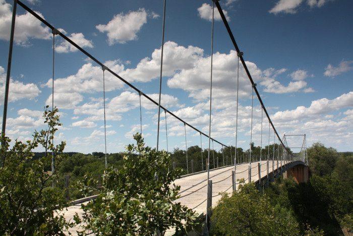 13. Texas: Regency Suspension Bridge