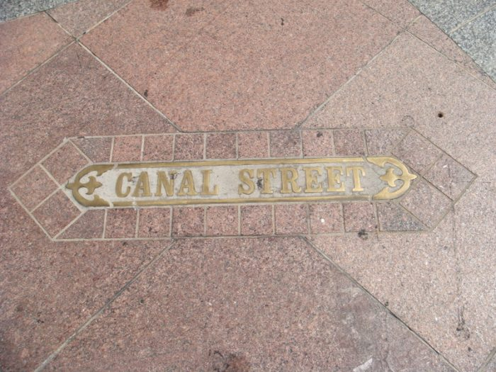 2. We once named a street for the canal that would be built...and then didn't build the canal.