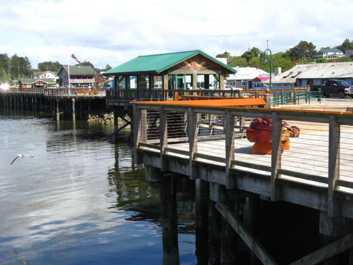 6. Port of Bandon Boardwalk