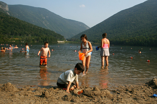 10. Echo Lake State Park, North Conway