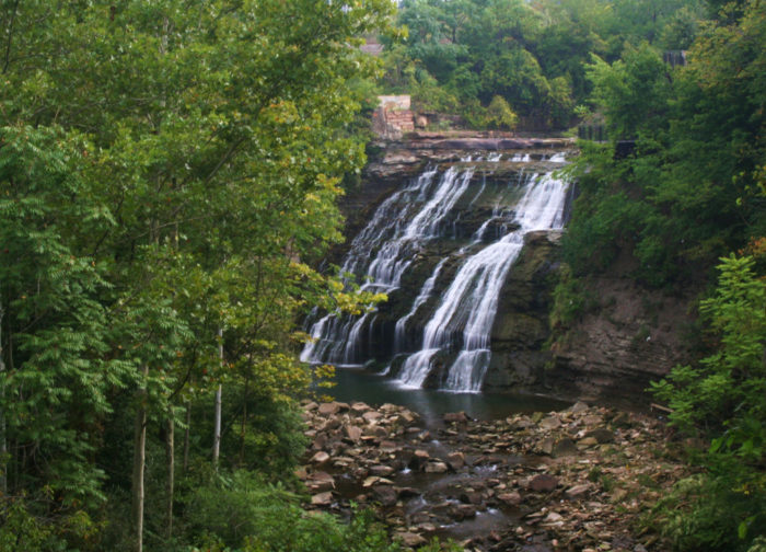 1. Mill Creek Falls (Cleveland)
