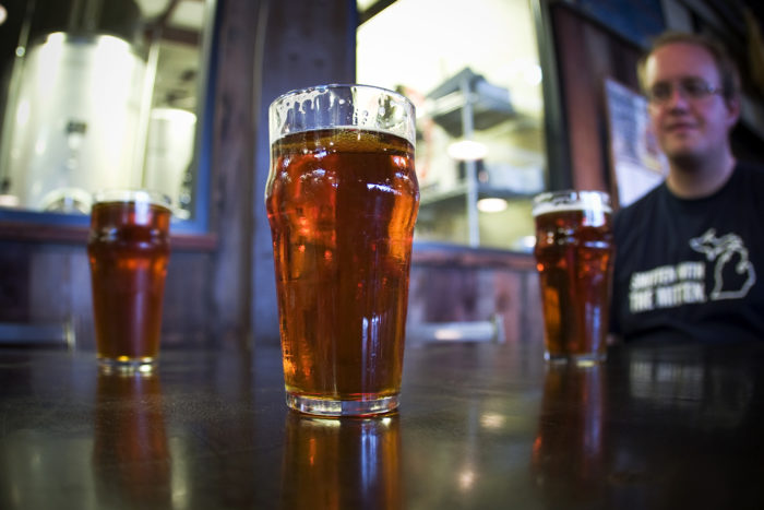 5. The beer is always flowing -- and it's delicious.