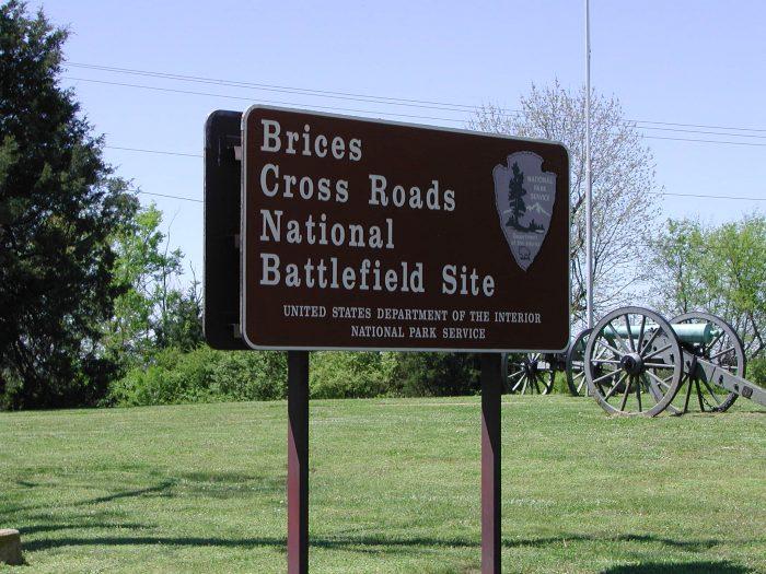 4. Brice's Crossroads Battlefield-Chief Tishomingo Scenic Byway, Baldwyn to Guntown