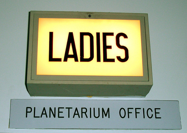 4. That's right, gents. Get your own planetarium office.
