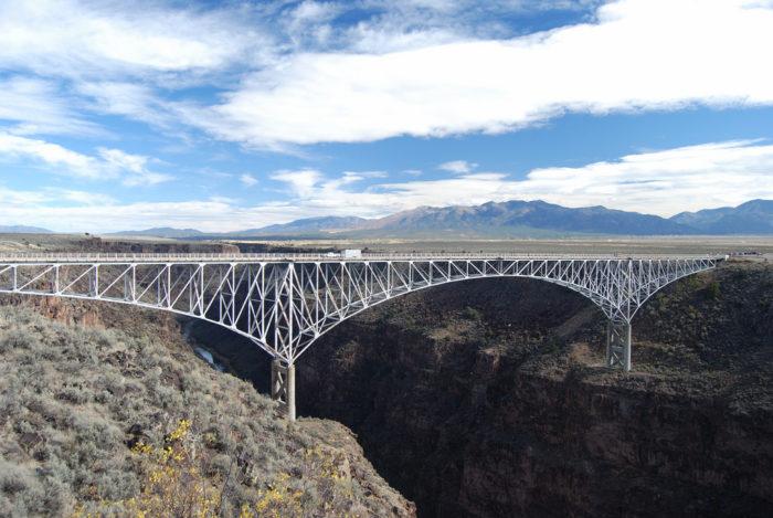 7. Rio Grande Gorge Bridge, near Taos