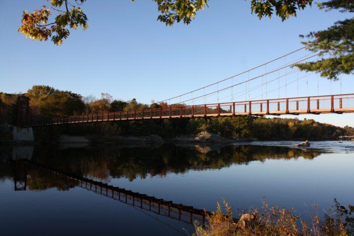 4. Maine: Androscoggin Swinging Bridge