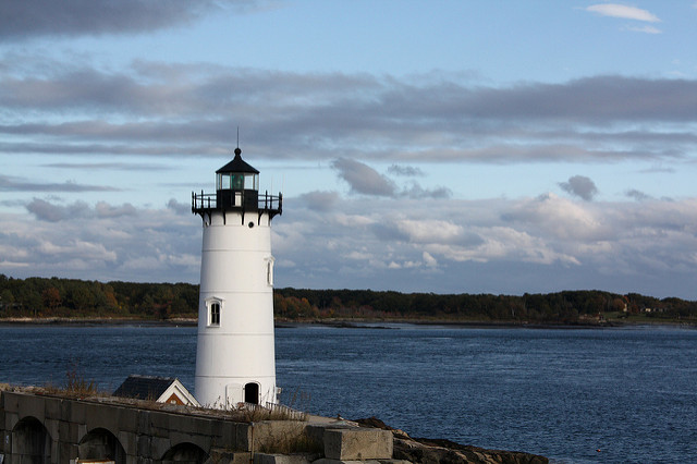 3. Fort Constitution and The Portsmouth Harbor Light House, New Castle