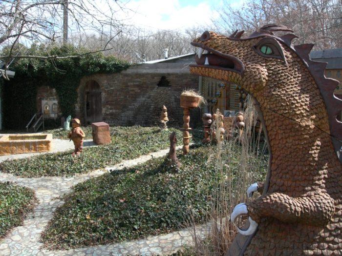 5. Terra Studios Sculpture Garden