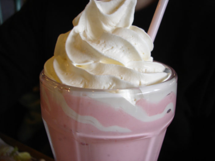 2. While you're there, grab a world-famous huckleberry milkshake from the Victor Emporium.
