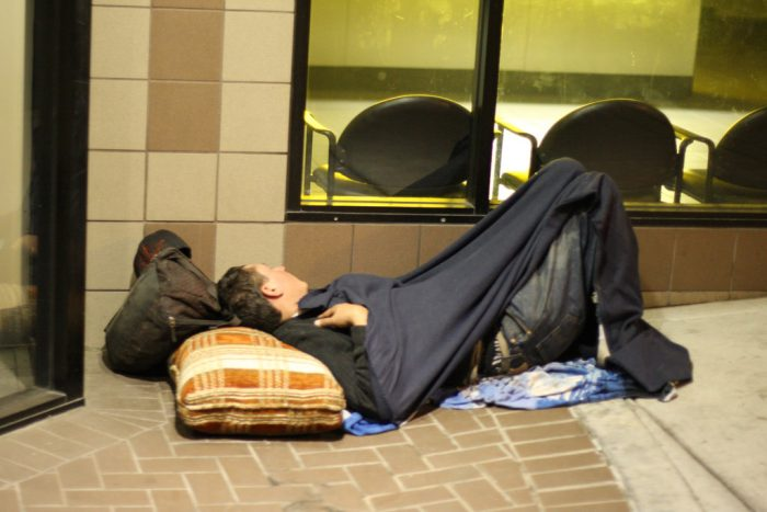 5. Southern California has a high rate of homelessness.