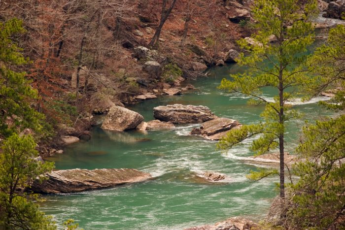 1. Visit Hawk's Glide Overlook for a lovely view of the Little River.