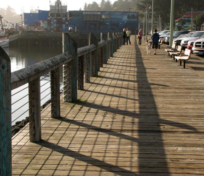 1. Newport Harbor Boardwalk