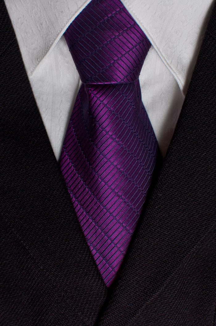 3. Wear purple, no matter what the occasion calls for. No excuses.