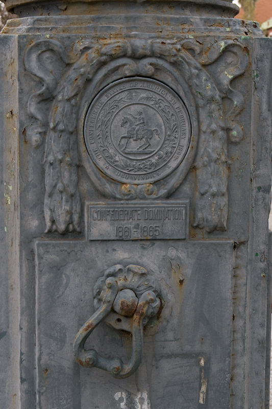 3. And we also once installed light posts emblazoned with some highly inaccurate history.