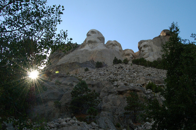 2. There would be no Mount Rushmore.