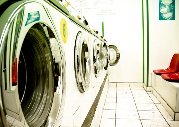 11. Spitting on your laundry is illegal.
