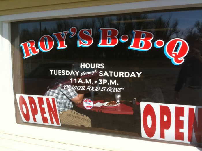 1. No matter your whereabouts, you're bound to be close to a great BBQ joint.