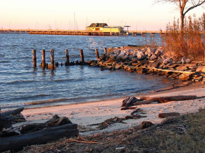 3. Fairhope Municipal Pier Beach