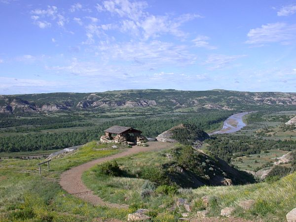 7. Go camping at a state park or national park. Get that true taste of North Dakota outdoors.