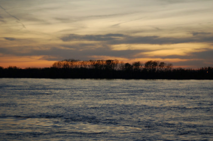 11. The mighty Mississippi forms its border...