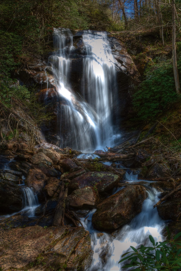 8. Anna Ruby Falls Trail—Sautee, Georgia