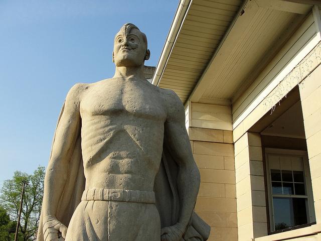 7. Joe Palooka Statue - Oolith