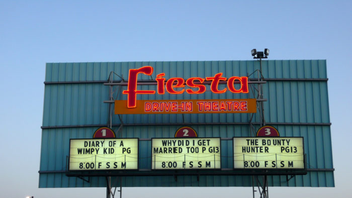 10. Watch a drive-in movie.