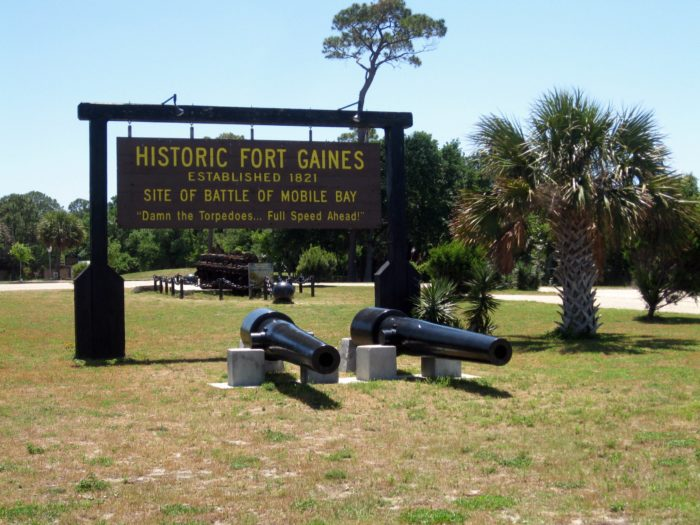 3. Visit the historic grounds of Fort Gaines.