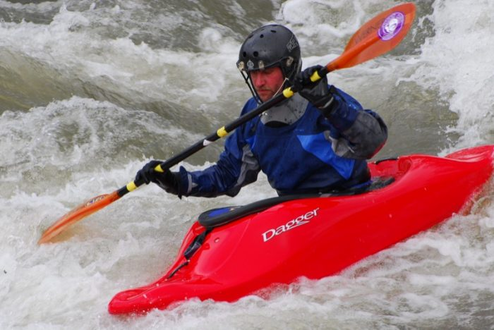 And the bustling rapids provide a great place for adventure.