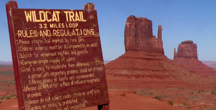 3. Wildcat Trail, Monument Valley
